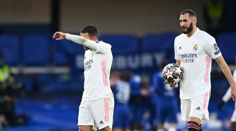 Real Madrid aplastado por Chelsea