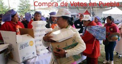 Inician la campaña de mentiras en Puebla