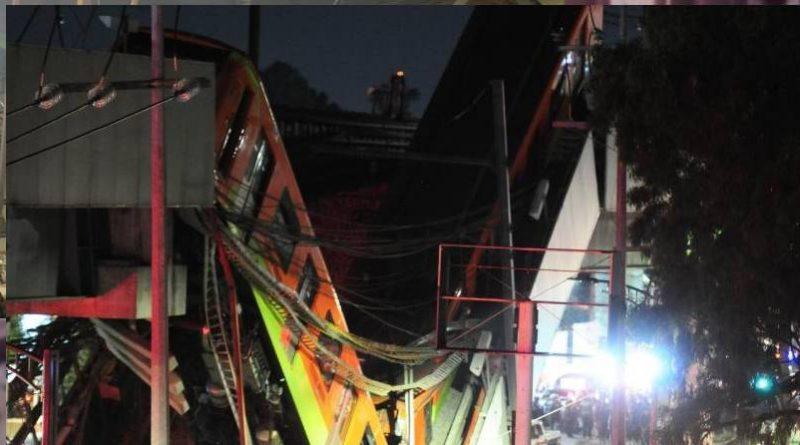 La caída del metro línea 12, responsable Marcelo Ebrard